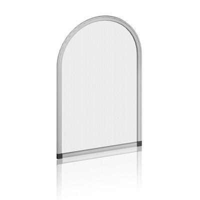 spannrahmen fliegengitter aus aluminium mit paneel gold. Black Bedroom Furniture Sets. Home Design Ideas